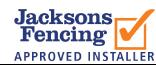 Jacksons Fencing Approved Installer